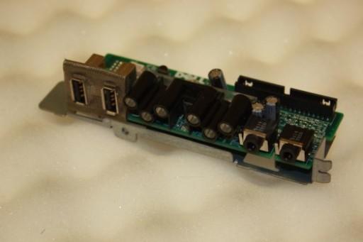 Dell Precision 490 I/O USB Audio Power Button Board PC287 0PC287