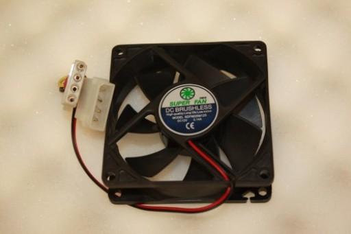 Super Fan SDF8025M12S 80mm x 25mm IDE Case Fan