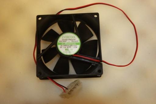 Evercool EC8025M12S 80mm x 25mm IDE Case Fan