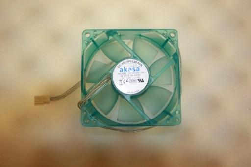 Akasa DFS802512M 80mm x 25mm 3Pin Case Fan