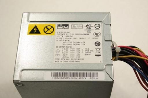 AcBel PC8061 180W PSU Power Supply 36001847 54Y8835
