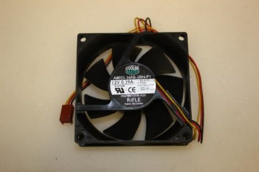 Cooler Master A8025-36RB-3BN-P1 80mm x 25mm 3Pin Case Fan
