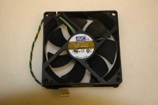AVC DS09225B12HPFAF 90mm x 25mm 4Pin Case Fan