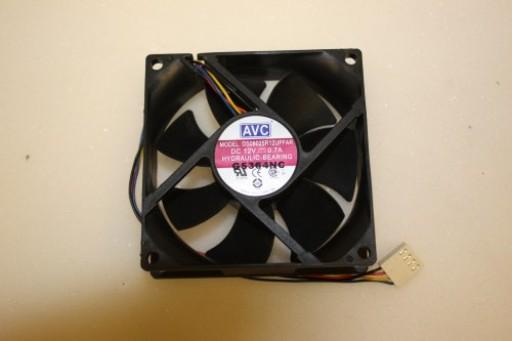 AVC DS08025R12UPFAR 80mm x 25mm 4Pin Case Fan