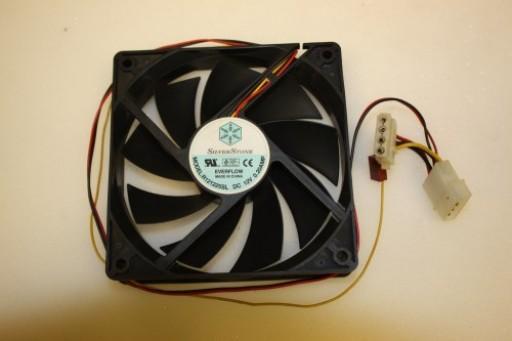 Silver Stone R121225SL 120mm x 25mm IDE Case Fan