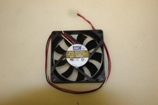 AVC DA07015B12L 70mm x 15mm 3Pin Case Fan