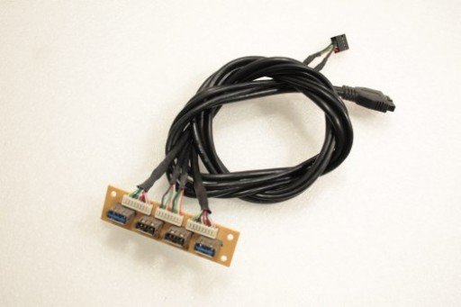 APEX EL-662 2x USB 2.0 2x USB 3.0 Board Cable CT5010 RY-EL600