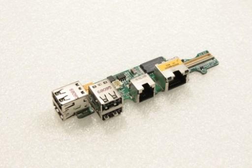 Dell Latitude D530 USB Ports Board DA0DM6PI8C0