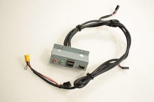 Stone 210 USB-5 Azalia Rev: A1 Audio FireWire Board Bracket Cable