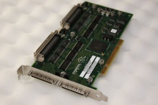 Symbios SYM22802 PCI Dual Channel Ultra SCSI Controller Adapter Card