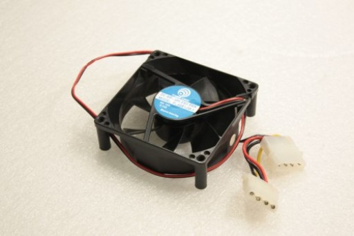 DC Brushless PC Case Fan PL80S12M-1 IDE Pin 80mm x 25mm