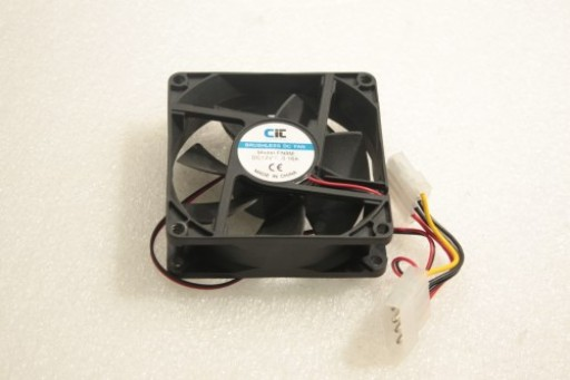 CIC PC Cooling Fan FN8M IDE Pin 80mm x 25mm