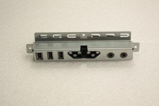 Dell Precision 690  I/O USB Audio Ports Panel Board FF219