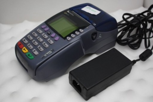 Verifone Omni 3750 Credit Card Terminal Chip & PIN Pad