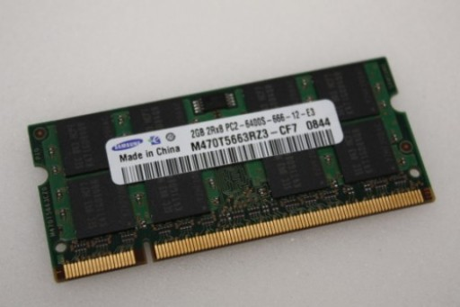 2GB Samsung PC2-6400 DDR2 Sodimm Memory M470T5663RZ3