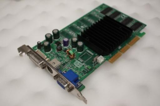 nVidia Geforce FX5200 128MB AGP VGA DVI Graphics Card