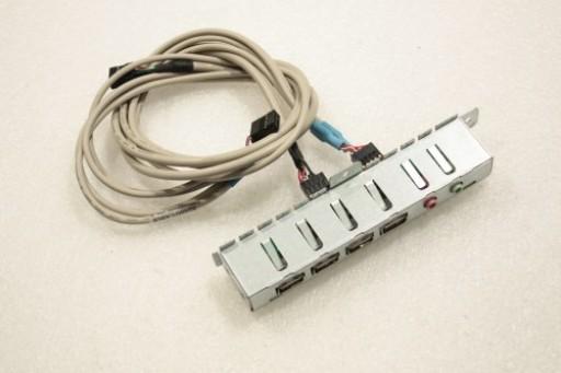 Acer Aspire M1610 USB Audio Board Cable Bracket H701/501 V1.2 1B03 5WY