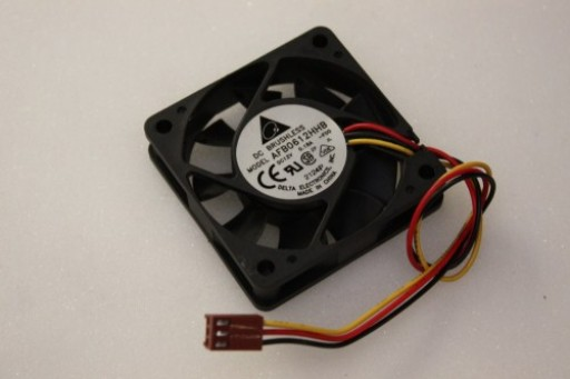 Delta Electronics AFB0612HHB 3Pin Case Cooling Fan 60mm x 15mm