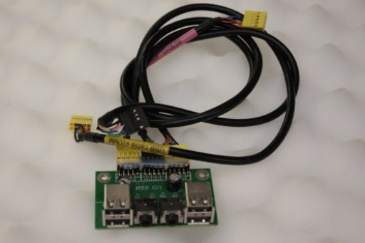 Acer Aspire AX3400 AX3960 54.13042.011 USB Audio Ports Panel Board