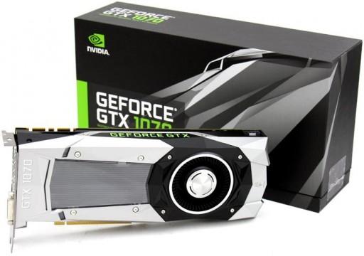Nvidia GeForce GTX 1070 Founders Edition PCIE 3.0 8 GB GDDR5