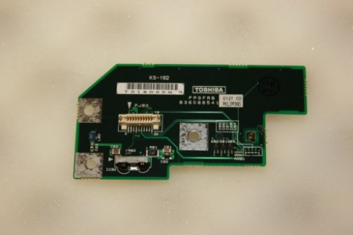 Toshiba Satellite S1800 Power Button IR Infrared Board B36088541