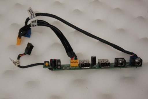 HP Compaq dc7100 USFF 48.3D809.011 Power Button LED USB Audio Board Panel