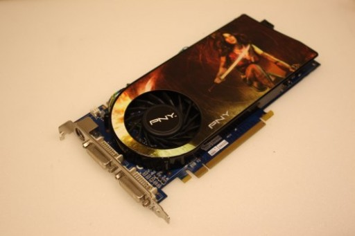 PNY nVidia GeForce 9600GT 512MB PCI-E Dual DVI Graphics Card