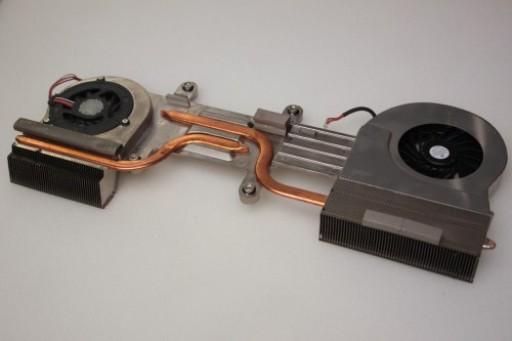 Sony Vaio VGC-JS Series UDQF2PH54DF0 UDQF2RH53DF0 CPU Heatsink Cooling Fans
