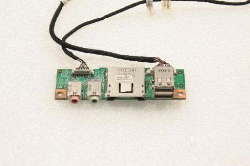 Philips Freevents LX3000 Mini PC USB Audio Video Card Reader Ports 80G3TGD00-C0