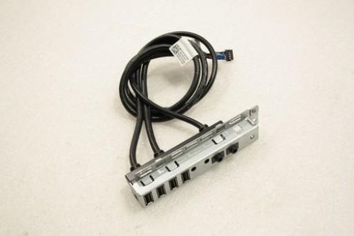 Dell Optiplex 960 MT Front I/O Plate USB Audio Board Cable Y163D