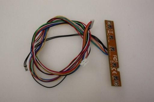 HP TouchSmart IQ700 IQ770 IQ790 DSK-CF Audio Volume Buttons Board