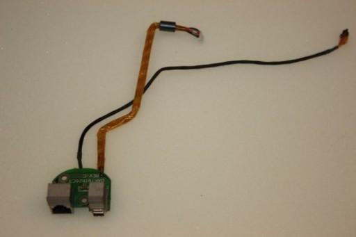 HP Compaq nx9010 Modem Firewire Ports Board DAKT9TB26C3