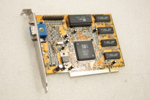 SIS 6326 8MB VGA PCI Graphics Card C6326PE Ver1.0