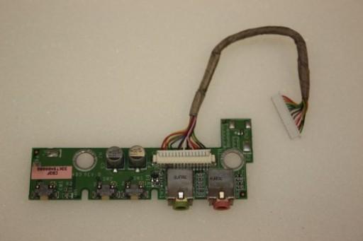 HP Compaq nx9010 Audio Board Cable DAKT9AAB4B9
