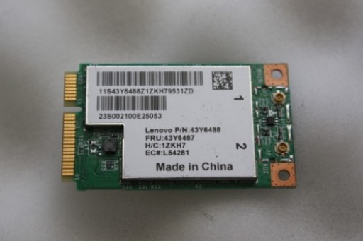 Lenovo S10e S9e BCM94312MCG PCI-e Wireless Card 43Y6488