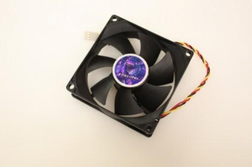 Foxconn Thermal Control DF0802512B1LN 3Pin Case Cooling Fan 80mm x 25mm