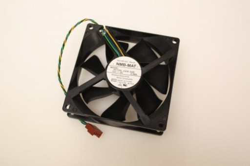 NMB-MAT 3610RL-04W-S66 392185-001 Case Cooling Fan 90mm x 25mm