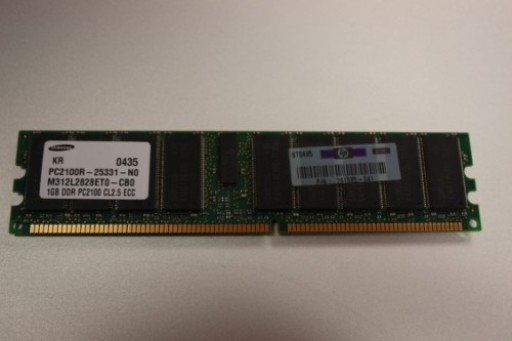 HP 261585-041 1GB DDR PC2100 CL2.5 ECC Server Memory