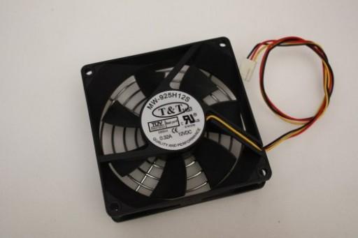 T&T MW-925H12S Case Cooling Fan 90mm x 25mm