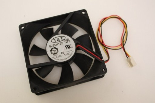 T&T 9225H12S Case Fan 3Pin 90mm x 25mm
