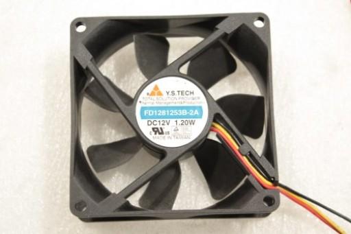 Y.S.Tech Cooling Fan 80mm x 25mm FD1281253B-2A