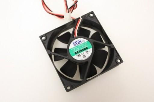 AVC C8025S12M 3Pin Case Fan 80mm x 25mm