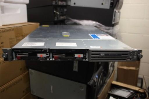 HP ProLiant DL360 G4p 4GB RAM  Dual Xeon 3.2GHz  2x 72.8GB 1U Rack Server