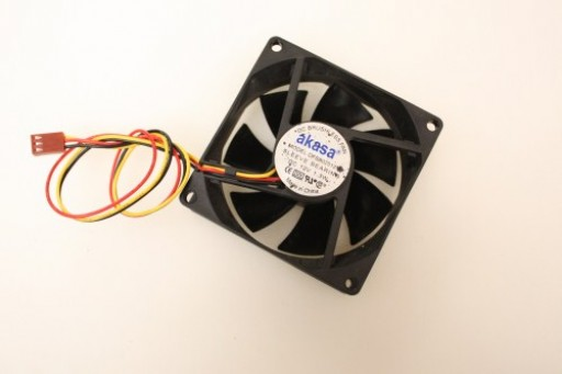 Akasa DFS802512M 3Pin Case Fan 80mm x 25mm