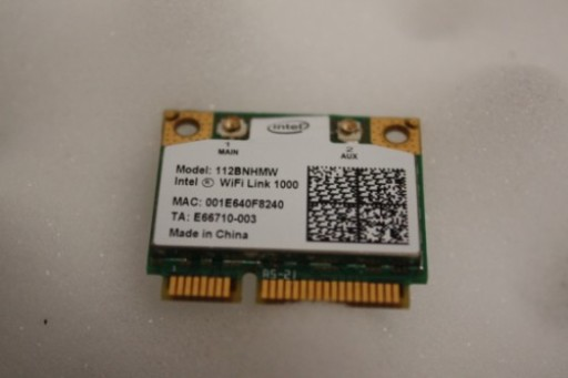 Acer Aspire 1810TZ WiFi Wireless Card 112BNHMW