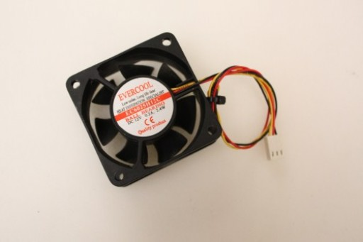 Evercool EC6025H12C 3Pin Case Fan 60mm x 25mm