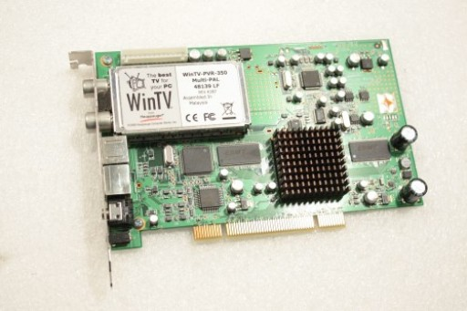 Hauppauge WinTV-PVR-350 Multi-PAL TV Tuner PCI Card 48139 LF Rev K2B7