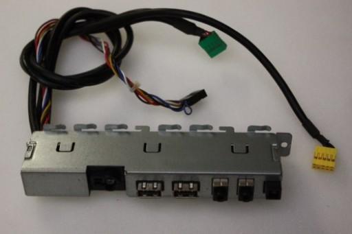 Dell Studio Slim 540s USB Audio Ports Panel X151C 0X151C
