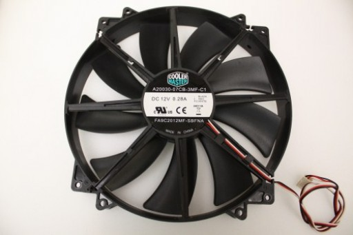 Cooler Master A20030-07CB-3MF-C1 3Pin Case Fan 200mm x 30mm