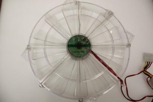 Globe Fan RL6B S2203012H Blue LED Case Fan 220mm x 30mm